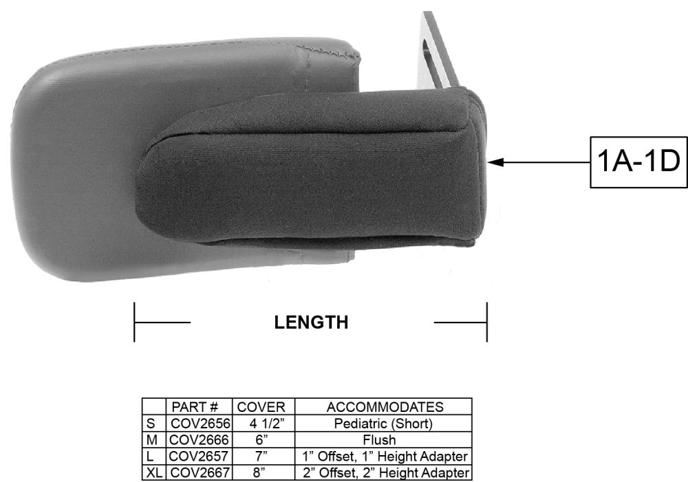 Bracket Covers parts diagram